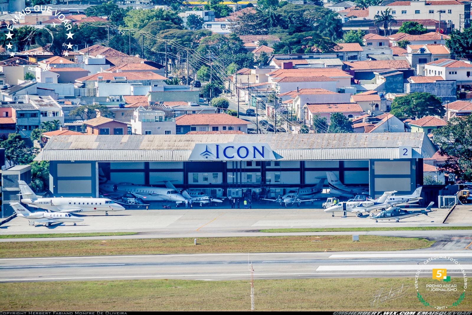 Icon Aviation é eleita segunda melhor FBO da América Latina | Foto © Herbert Monfre - É MAIS QUE VOAR