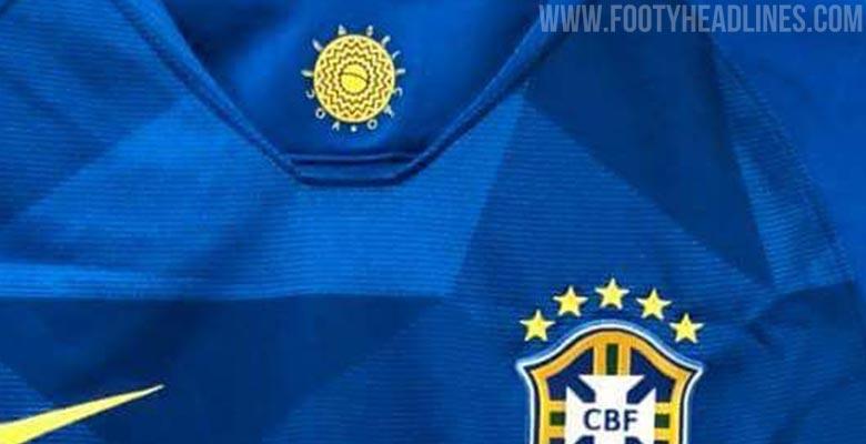 2b9c208dc Nike Brazil 2018 World Cup Away Kit Leaked