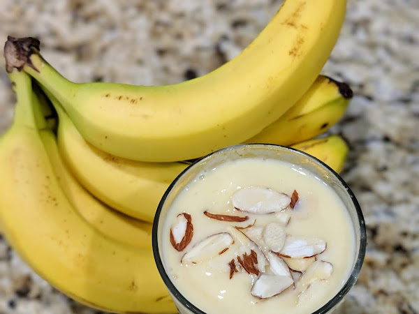 Breakfast Banana Smoothie