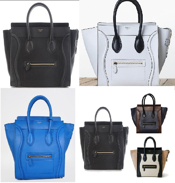 8d65eda81519d4 Celine Luggage tote bag comes in different sizes, colors and Materials. The  reason why I picked this as one of the top 5 because this bag can hold a  lot of ...
