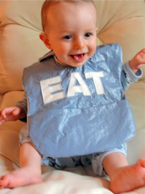 The Pursuit Of Happiness Diy Wipe Able Baby Bib