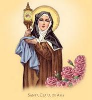 Resultado de imagen para SANTA CLARA, Virgen