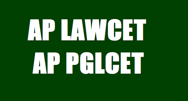 AP LAWCET/PGLCET 2017 Certificate verification, Web option dates for counselling