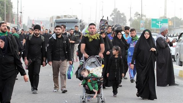 Millions of Muslims gather in Iraq's Karbala to commemorate Arba'een