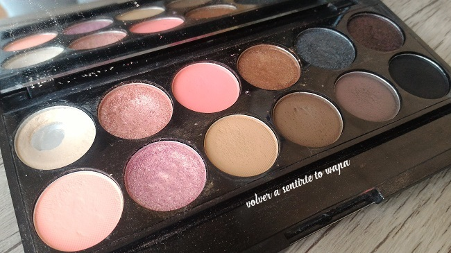 Paleta Oh so special de Sleek - Review & Swatches