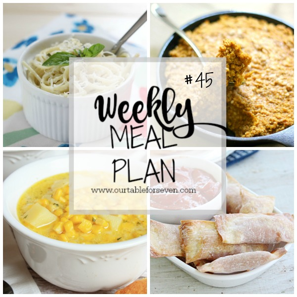 Weekly Meal Plan #45