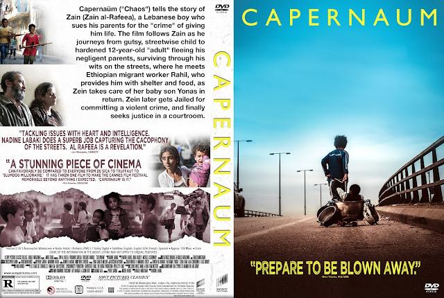 Capernaum DVD Cover