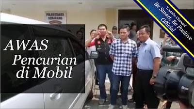 Pencurian Mobil Menggunakan Busi, Modus Pencurian Mobil, Pencurian Mobil Pakai Busi