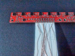 conexiones al sensor qtr