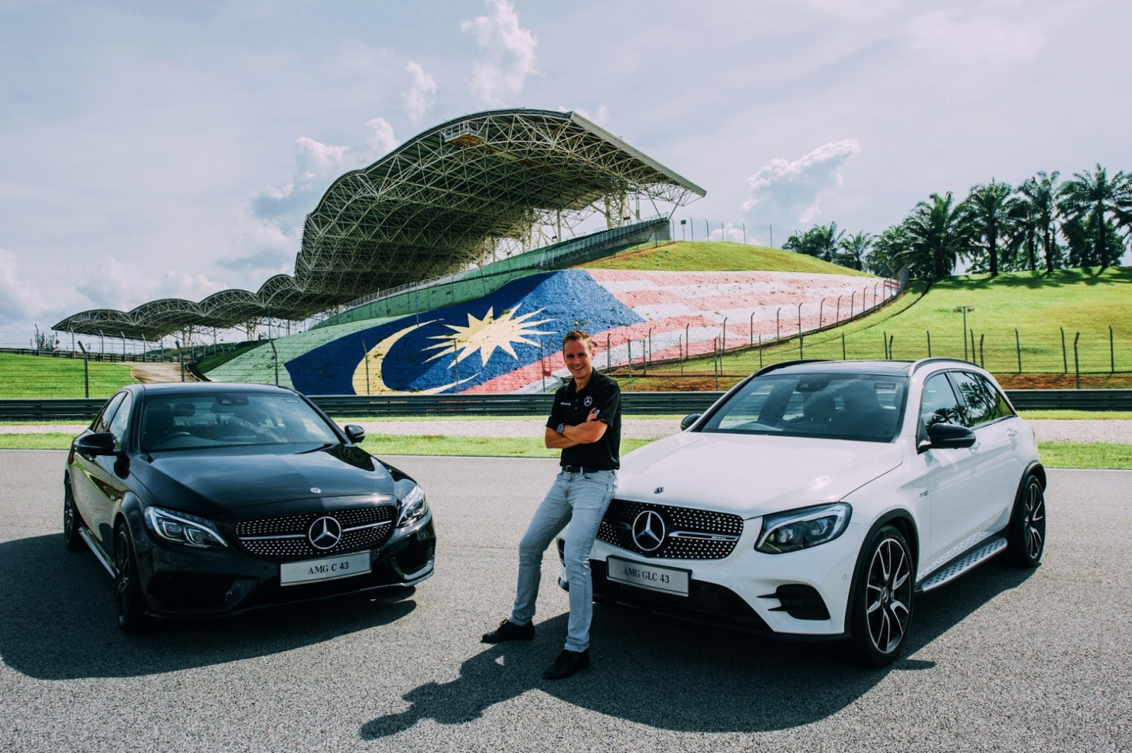 """""""We are ecstatic to announce the launch of the first locally-assembled  luxury performance cars in Malaysia – the Mercedes-AMG C 43 and Mercedes-AMG  GLC 43."""