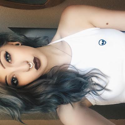 Hot Girl Nose Piercing