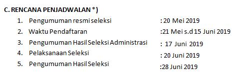 gambar jadwal pendaftaran  Seleksi Penerimaan Guru MAN Insan Cendekia dan MAN Program Keagamaan Tahun 2019
