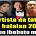 COMPLETE LIST : MGA 32 NA ARTISTA NA TATAKBO SA HALALAN SA 2019 !PANOORIN