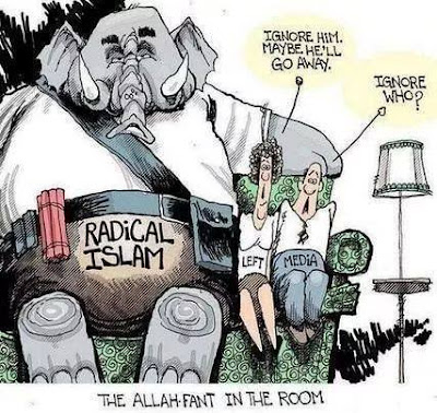 Attitude of left and mass media towards radical Islam