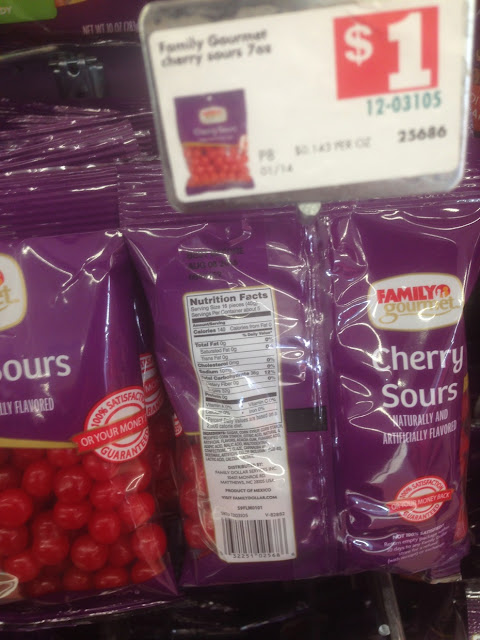 Cherry Sours, Family Gourmet - Family Dollar