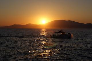 Posta de sol a la Mediterrània de Teresa Grau Ros