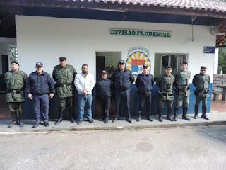 Prefeitura de Itu visita Divisão Florestal da Guarda de Jundiaí