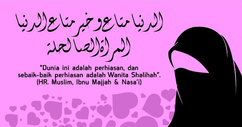20 Untaian Indah Kata Mutiara Islam Tentang Wanita