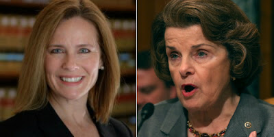 Prof. Amy Coney Barrett & Sen. Dianne Feinstein