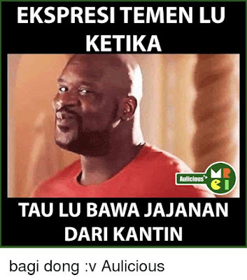 11 Meme 'Kantin Sekolah' Ini Bikin Kangen Kongkow Sama Ngebon