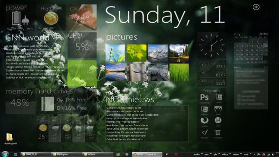 Rainlendar screenshot 3