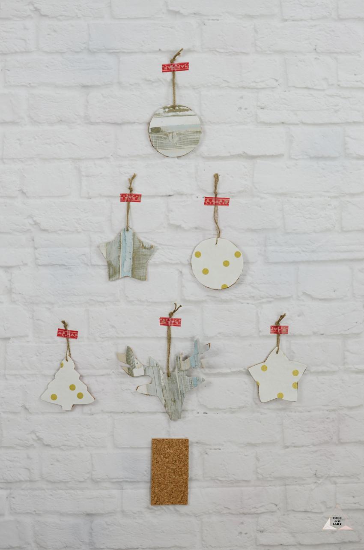 adornos árbol Navidad diy decoconsailo.com