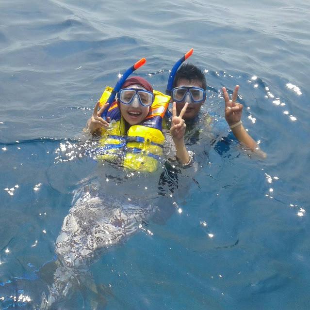 snorkeling romantis di gili meno lombok