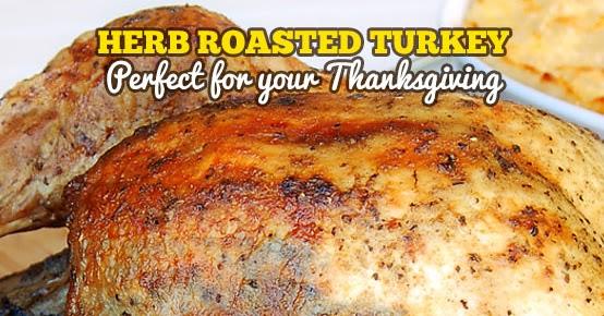 Best Ever Herb Roasted Turkey