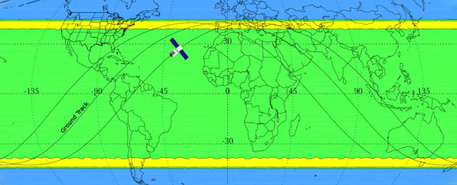 Scientists have finally figured out the countries where the Tiangong-1 space station would crash