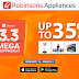 Robinsons Appliances Joins The Shopee 3.3 Mega Shopping Day with Deals Up To 35% OFF