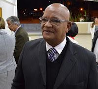 Pastor Ubiracy Xavier, da Igreja Filadélfia, anfitrião na celebração de agradecimento