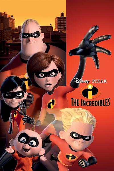 Poster of The Incredibles 2004 Dual Audio [Hindi-English] 720p BluRay ESubs Download