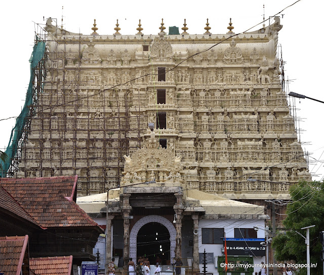 Padmanabhaswamy Temple Tower