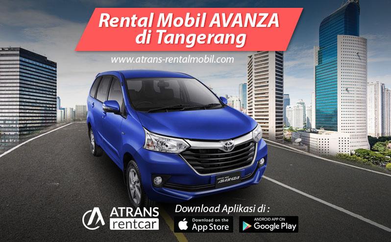 Rental Mobil Murah Toyota Avanza tangerang