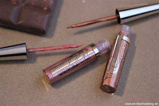 Review: CATRICE Blessing Browns - lecker schokoladig! - Metallic Liquid Lip Liner - www.annitschkasblog.de