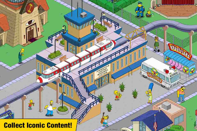 The Simpsons Tapped Out v4.25.0 MOD APK Terbaru