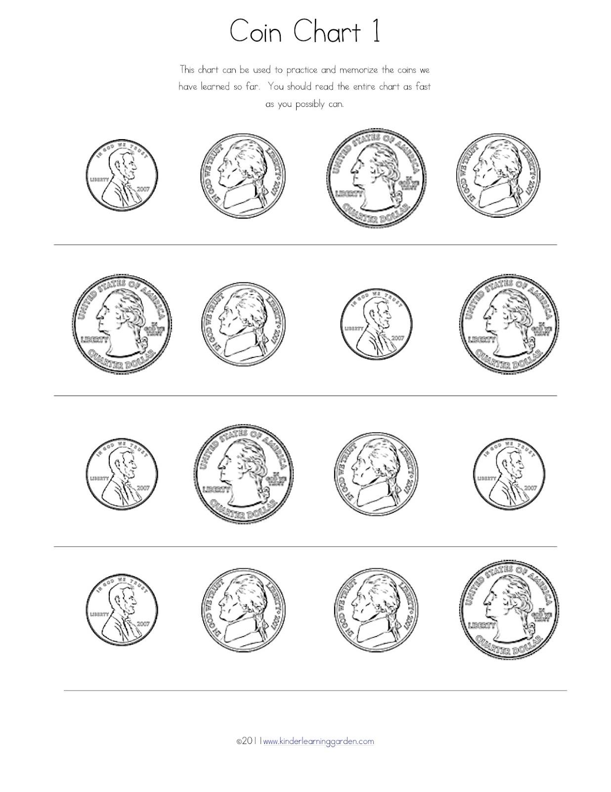 Kinder Learning Garden: Money Money Money!