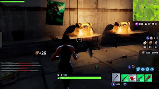 Fortnite Battle Royale, Golden Chests, Tomato Town, Pizza Restaurant, The Secret Room
