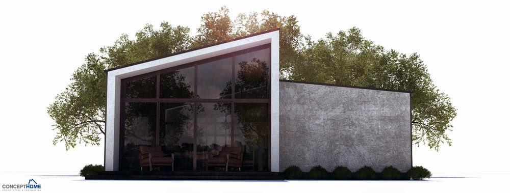 affordable home plans ch255 affordable modern home plan. Black Bedroom Furniture Sets. Home Design Ideas