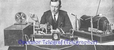 operator telegraf (telegrapher)