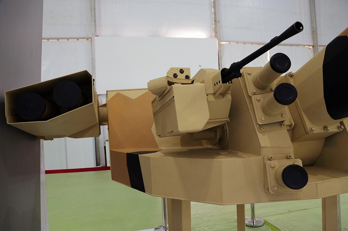 Уралвагонзавод демонструє в Індії 57-мм модуль АУ-220М