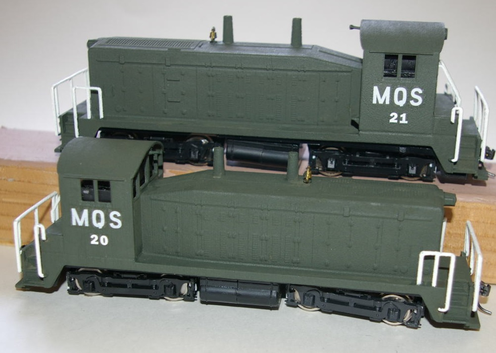 American OO Today: Two 3D printed SW7s, and a SC/Lionel