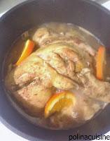 Κοτόπουλο με σάλτσα πορτοκάλι και μέλι - by https://syntages-faghtwn.blogspot.gr