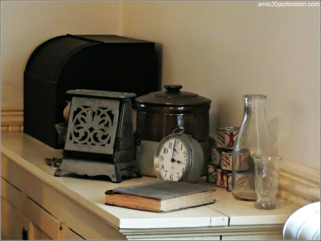 Casa de Nacimiento de Jonh F. Kennedy: Cocina
