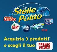 Logo ''Le Stelle del Pulito 2018'': scegli il tuo premio sicuro