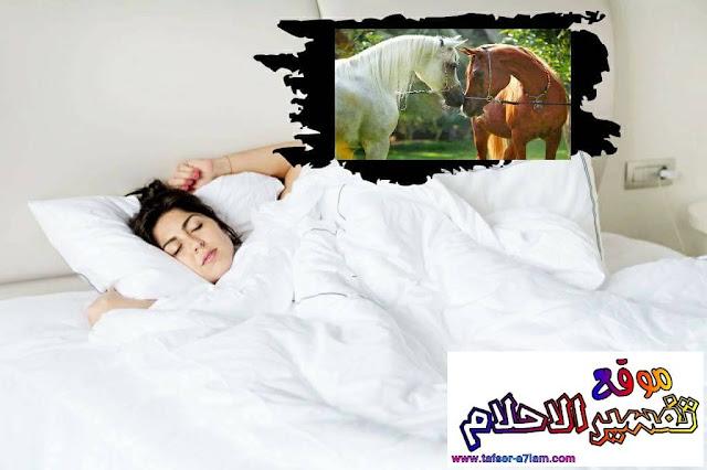 Interpretation of dark and brown horse dream in a dream