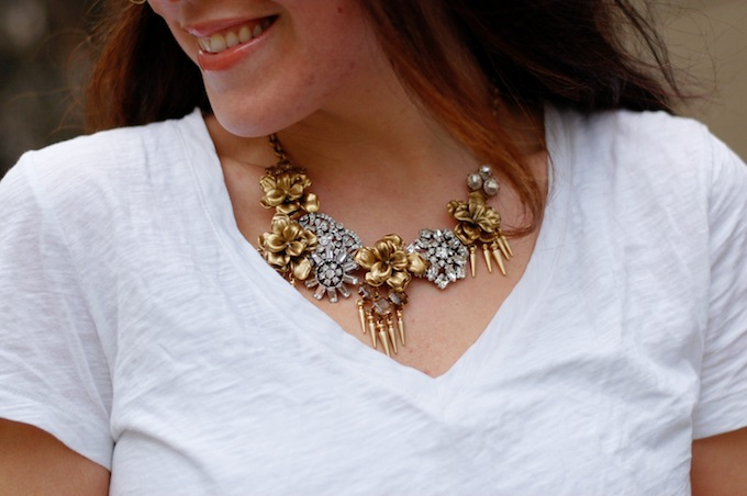 Stella & Dot statement necklace Covet and Acquire