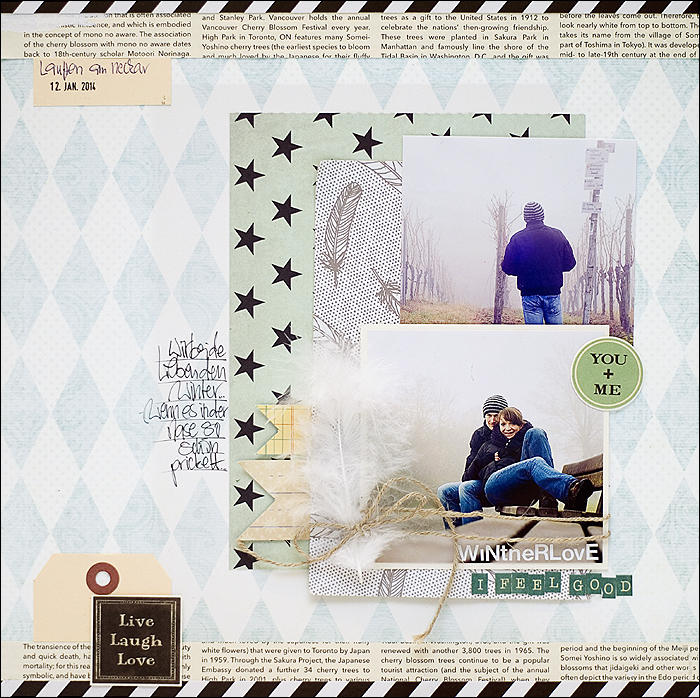 Winterlove, Scrapbooking, Scrap and Music