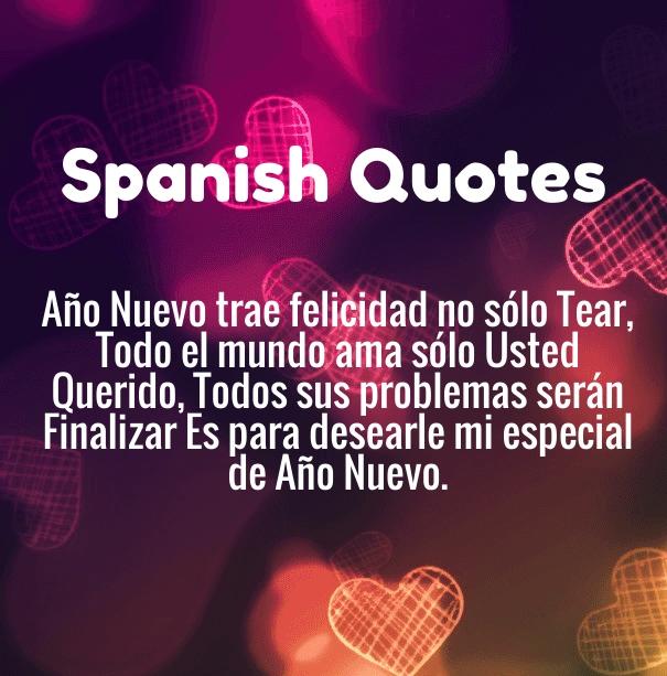 Happy New Year 2020 Spanish Quotes