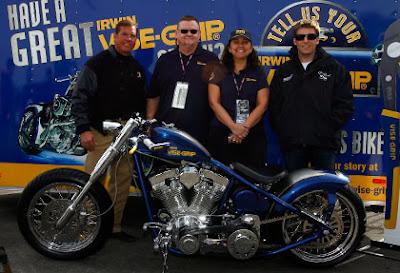 Irwin Vise-Grip Story 2009 Las Vegas #NASCAR  Trip Win (Jeff Hammond, Paul, NRM, Jamie McMurray)